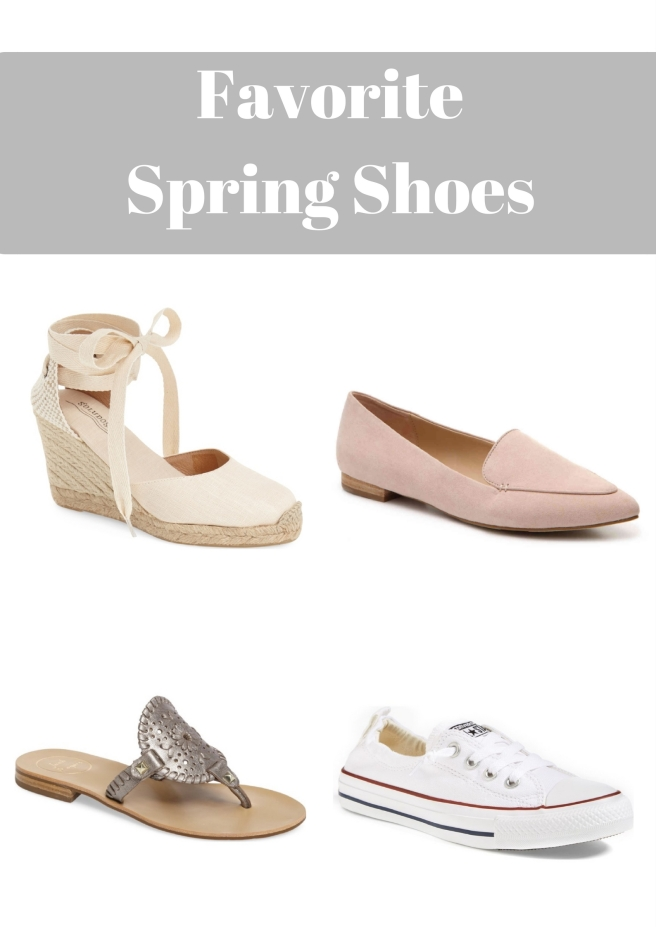 Favorite Spring Shoes