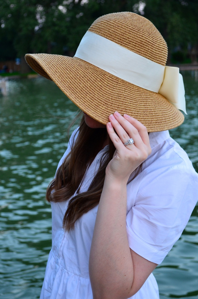 Date Night at the Lake: White Dress_0450