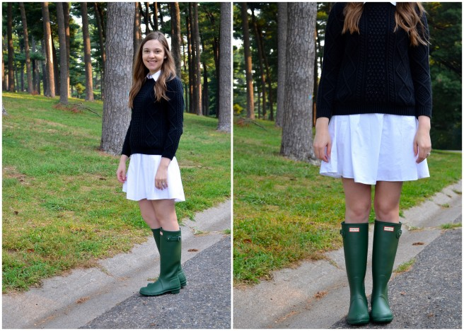 Shirt Dress w Sweater & Hunters.jpg