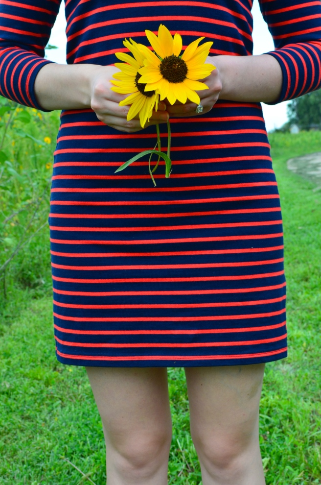 Striped Joules Dress_0511