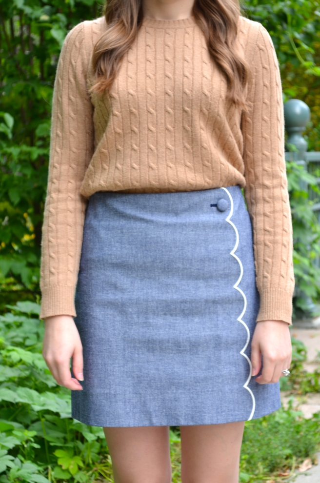 Sweater & Chambray Skirt_0649