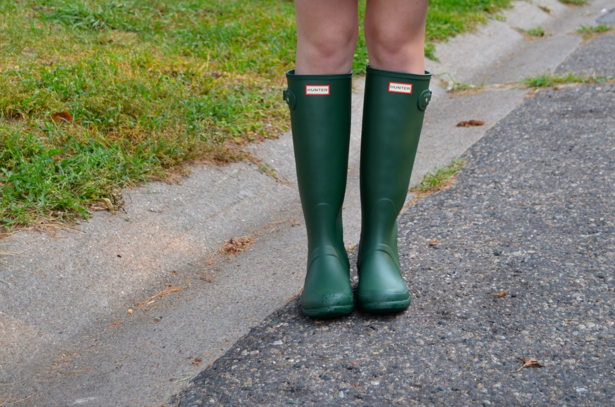 3 Ways to Style Hunter Boots