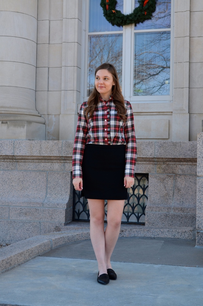 Black Skirt & Plaid Shirt_1595.jpg